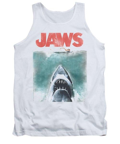 Jaws - Vintage Poster Tank Top
