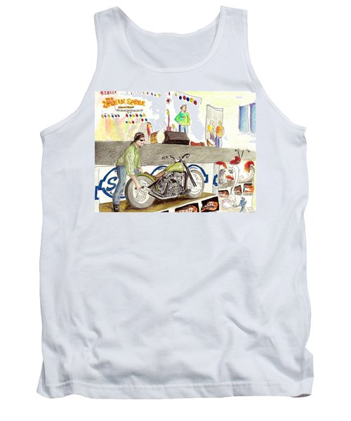 Jay Allen At The Broken Spoke Saloon Tank Top