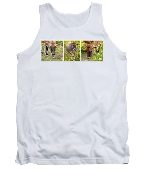 Jersey Fields Of Gold Tank Top