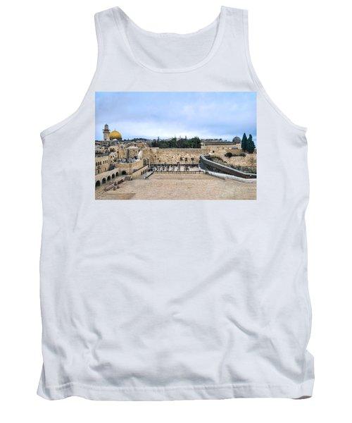 Jerusalem The Western Wall Tank Top