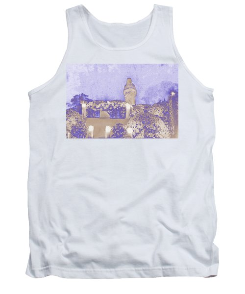 Tank Top featuring the photograph All Saints Day In Lacombe Louisiana by Luana K Perez