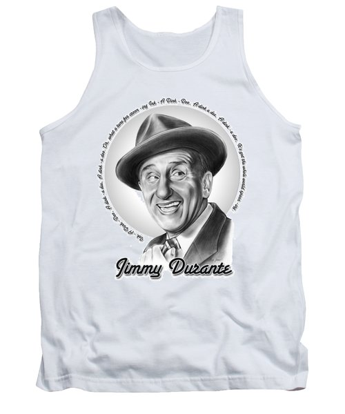 Jimmy Durante Tank Top