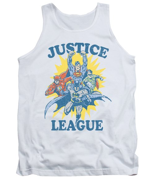 Jla - Let's Do This Tank Top