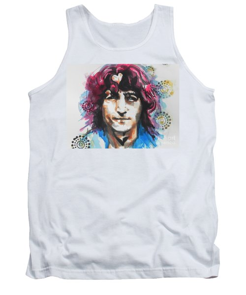 John Lennon..up Close Tank Top