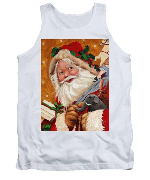 Jolly Santa Tank Top
