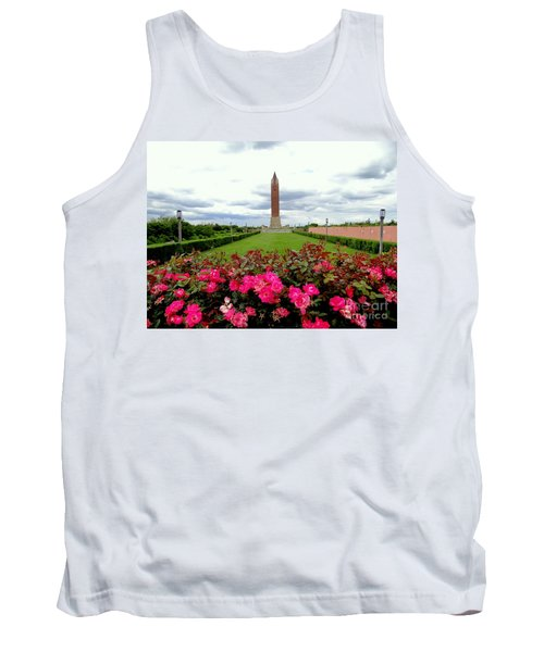 Jones Beach Water Tower Tank Top by Ed Weidman