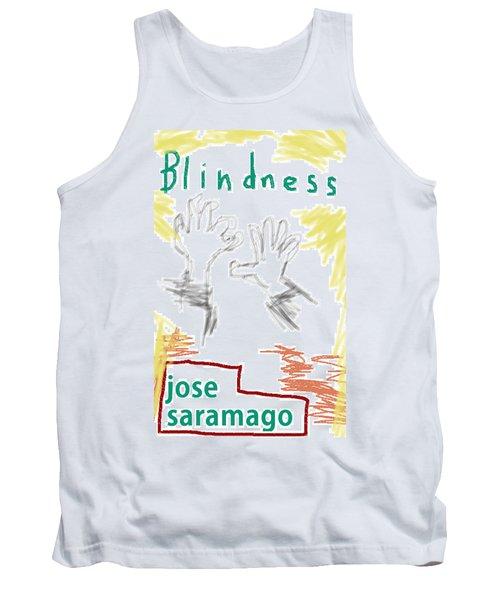 Jose Saramago Blindness Poster Tank Top