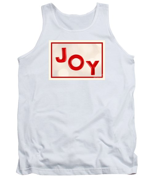 Tank Top featuring the photograph Joy To The World by Vizual Studio