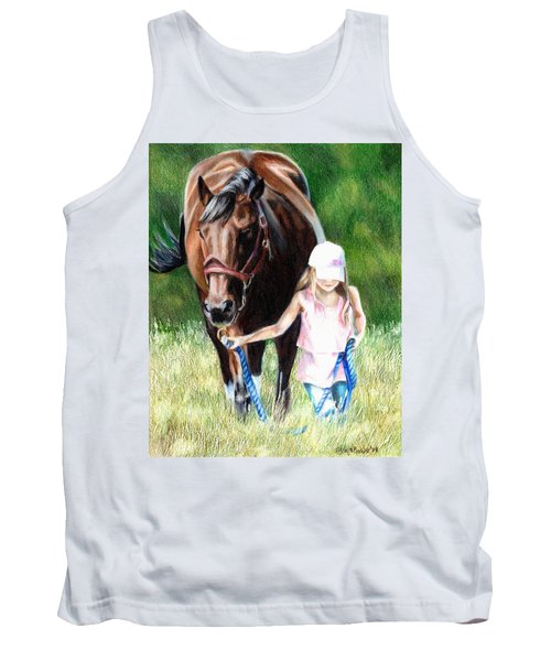 Just A Girl And Her Horse Tank Top