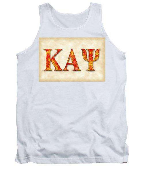 Kappa Alpha Psi - Parchment Tank Top