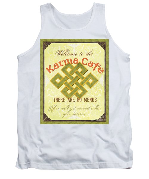 Karma Cafe Tank Top