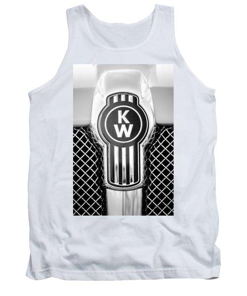 Kenworth Truck Emblem -1196bw Tank Top