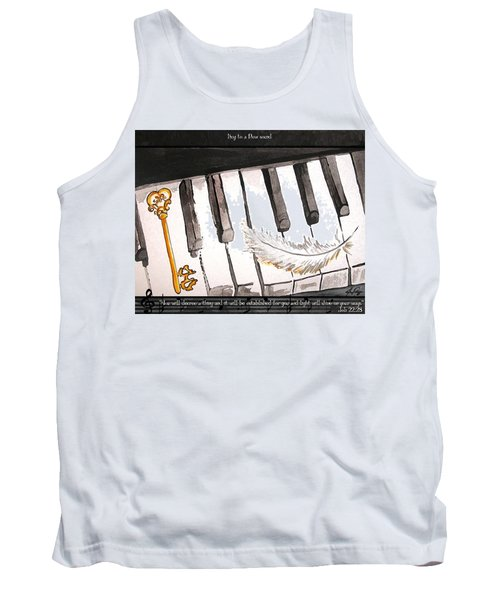 Key To A New Sound Tank Top