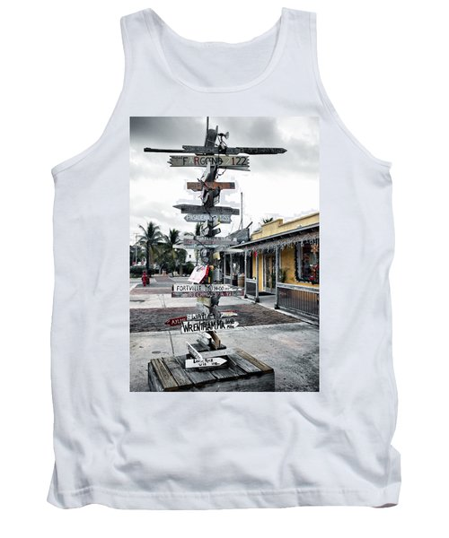 Key West Wharf Tank Top