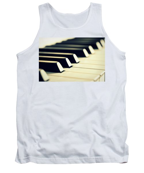 Keyboard Of A Piano Tank Top