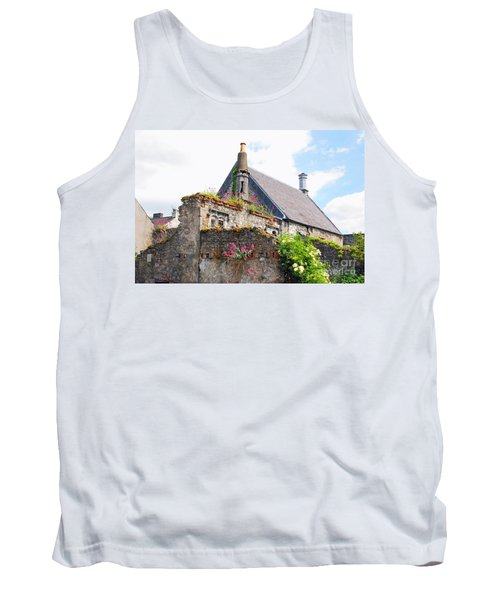 Tank Top featuring the photograph Kilkenny House by Mary Carol Story