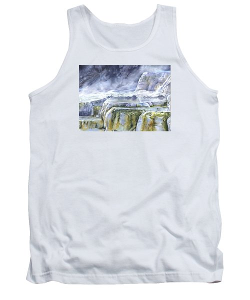Killdeer Palisades - Mammoth Hot Springs Tank Top