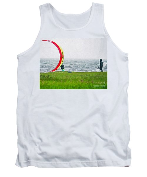 Kite Boarder Tank Top