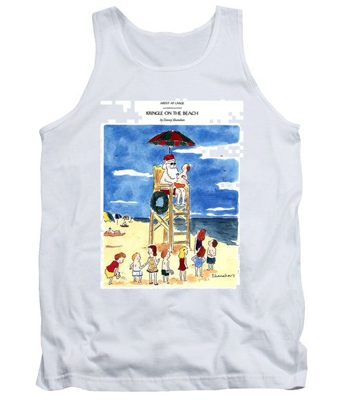Kringle On The Beach Tank Top