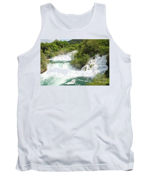 Krka Waterfalls Croatia Tank Top