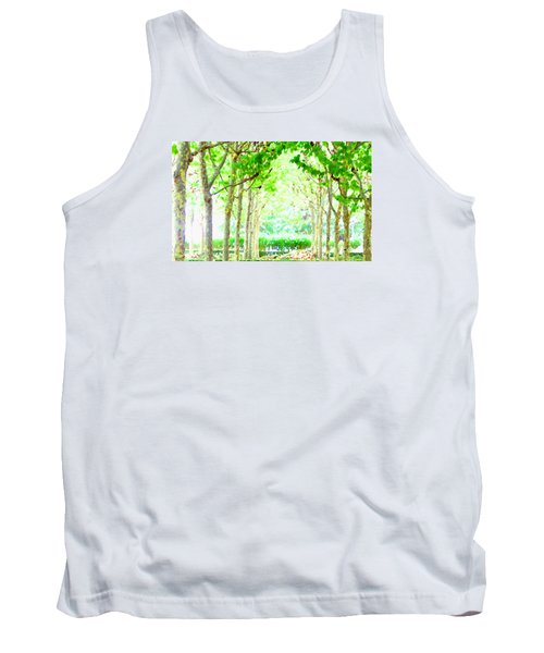 La Defense Platanuses Tank Top