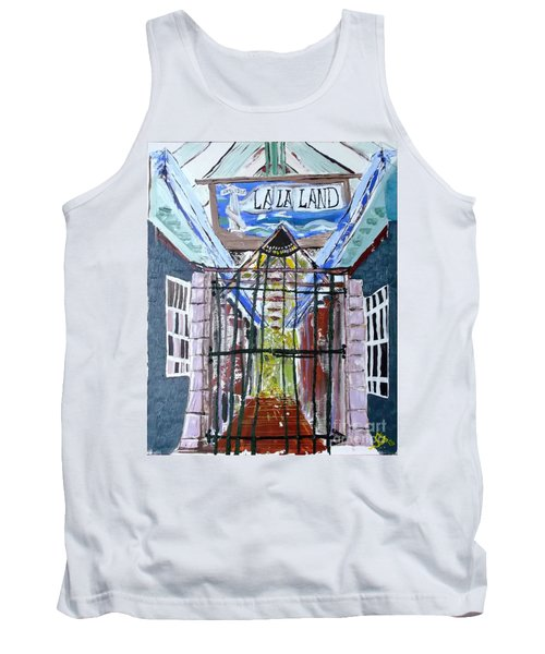 La La Land  Tank Top by Leslie Byrne