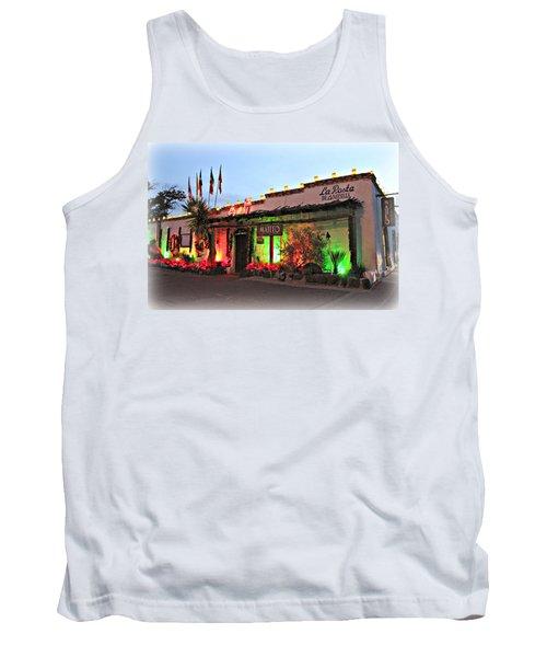 Tank Top featuring the photograph La Posta De Mesilla New Mexico by Barbara Chichester