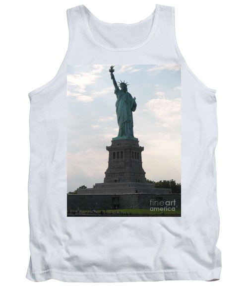 Tank Top featuring the photograph Lady Liberty by Luther Fine Art