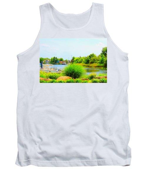 Lagoon  Tank Top