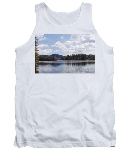 Tank Top featuring the photograph Lake Placid by John Telfer