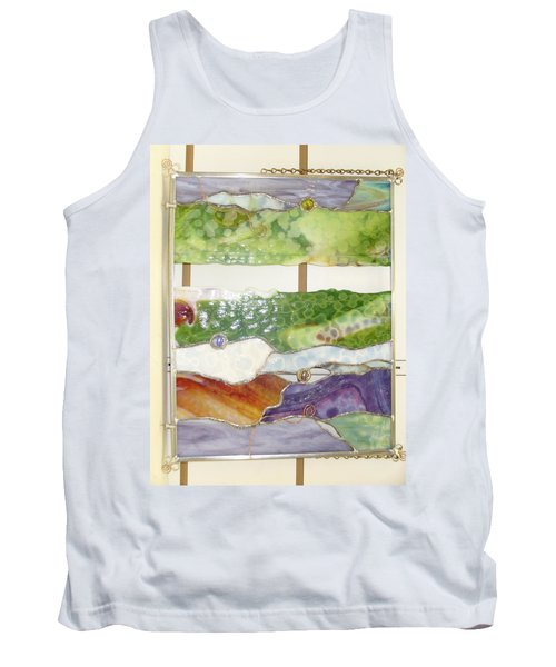 Landscape 2 Tank Top by Karin Thue
