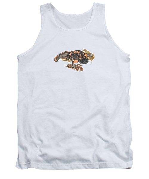 Large Blotched Salamander2 Tank Top by Cindy Hitchcock