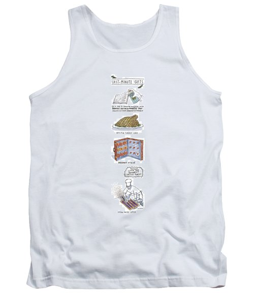 Last-minute Gifts Put A Stop To Sluggish Dialogue Tank Top