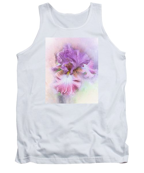 Tank Top featuring the digital art Lavendar Dreams by Mary Almond