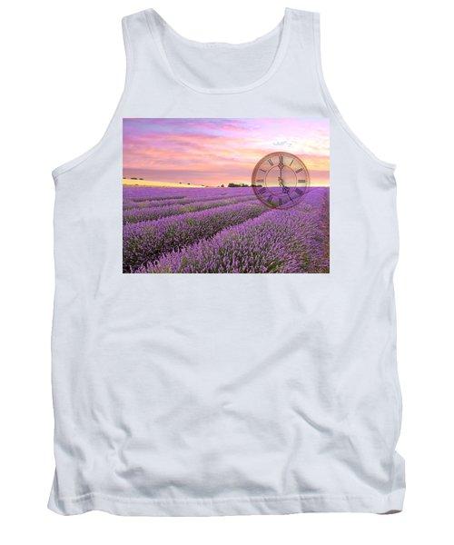 Lavender Time Tank Top