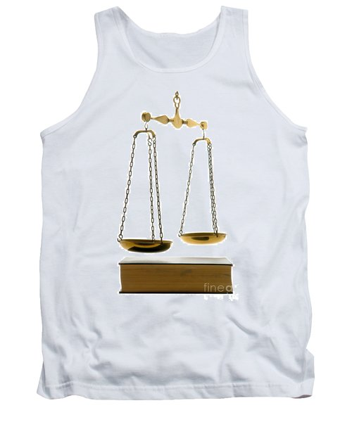 Law Book Tank Top