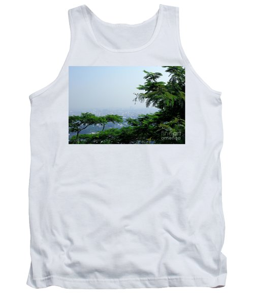 Layers Of Tree Tank Top by Kiran Joshi