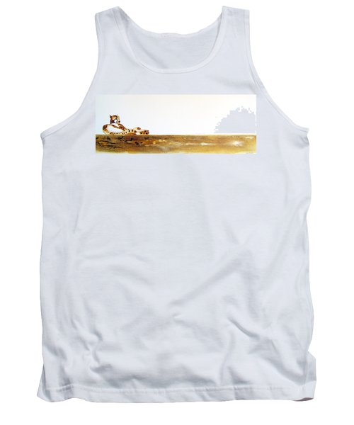 Lazy Dayz Cheetah - Original Artwork Tank Top