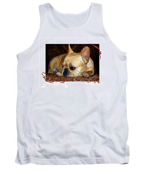 Tank Top featuring the photograph Lazy Paisley Afternoon by Barbara Chichester