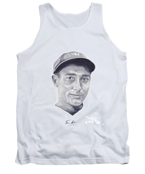 Tank Top featuring the painting Lazzeri by Tamir Barkan