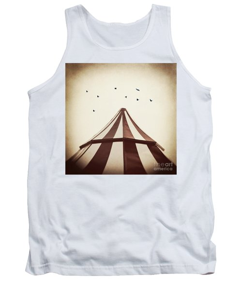 Le Carnivale Tank Top by Trish Mistric