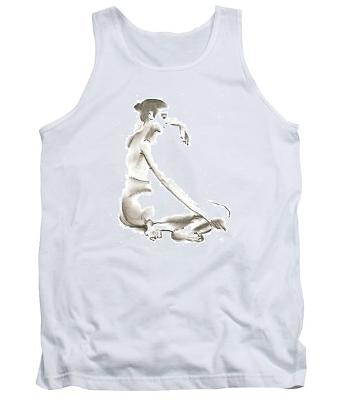 Leaning To The Side Lutar Sig Tank Top