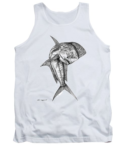 Leaping Dolphin  Tank Top