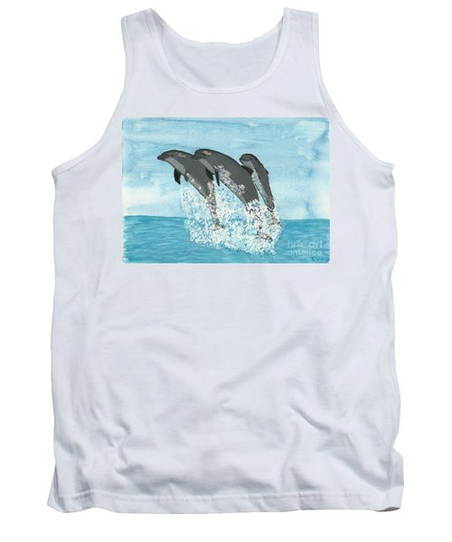 Leaping Dolphins Tank Top