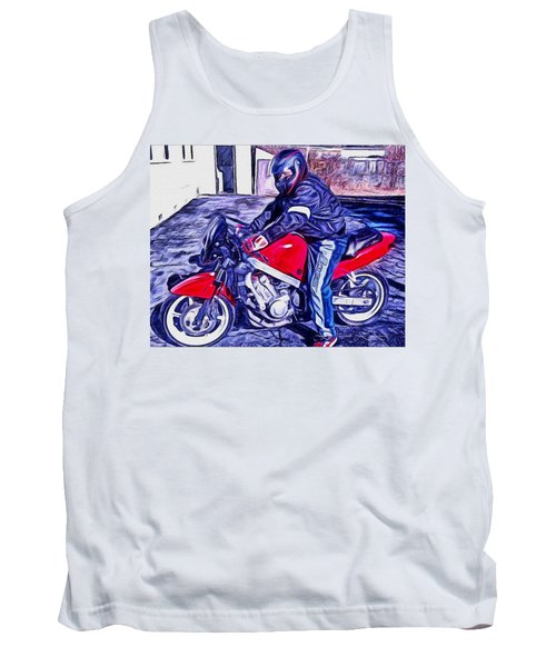 Learn How To Ride Tank Top