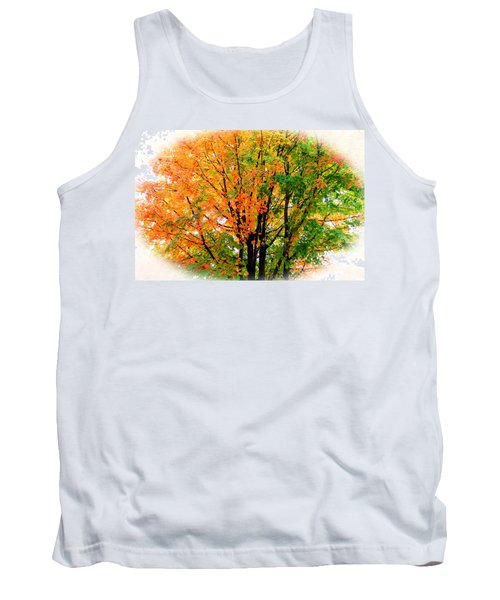 Leaves Changing Colors Tank Top