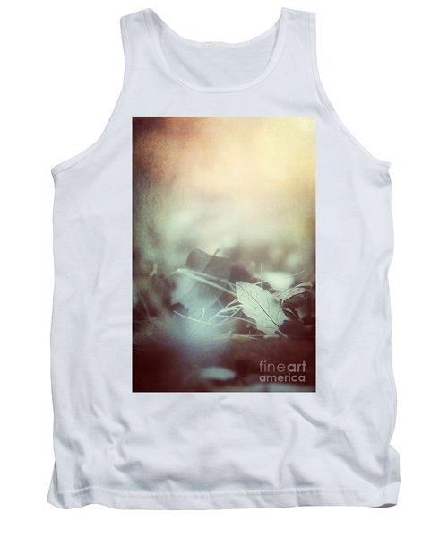 Leaves Of Time  Tank Top