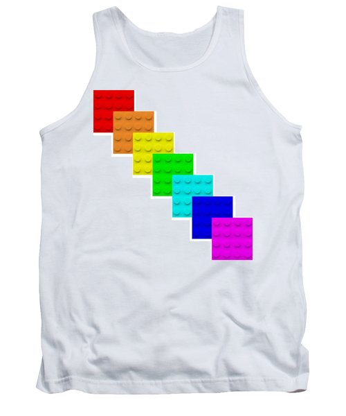 Lego Box White Tank Top