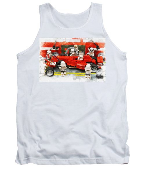 Lego Pit Stop Tank Top