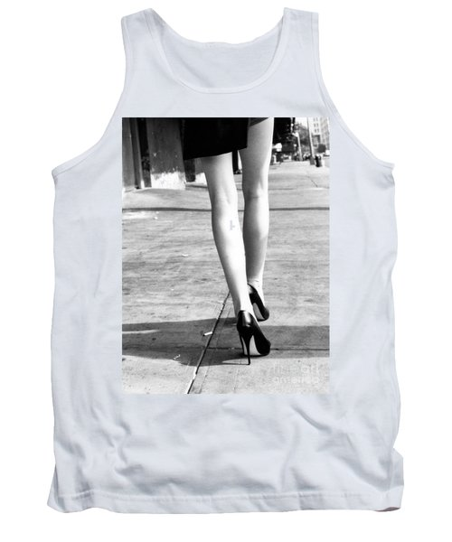 Tank Top featuring the photograph Legs New York by Rebecca Harman